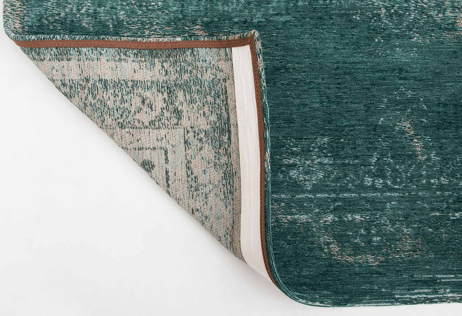Louis De Poortere rug LX 8258 Fading World Medaillon Jade back