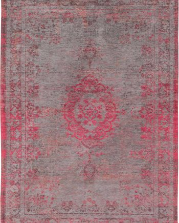 Louis De Poortere rug LX 8261 Fading World Medaillon Pink Flash
