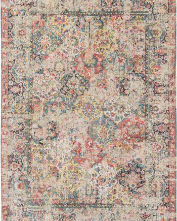 Louis De Poortere rug LX 8712 Antiquarian Antique Bakthiari Janissary Multi