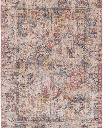 Louis De Poortere rug LX 8713 Antiquarian Antique Bakthiari Khedive Multi