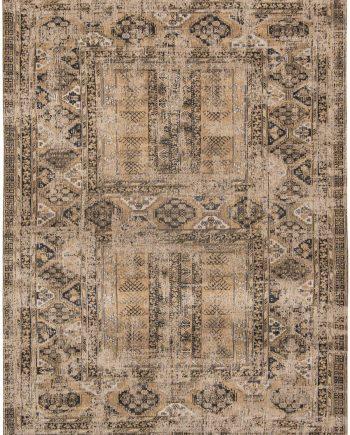 Louis De Poortere rug LX 8720 Antiquarian Antique Hadschlu Agha Old Gold