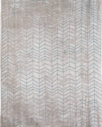 Louis De Poortere rug LX 8927 Mad Men Jacobs Ladder Tribeca Blue