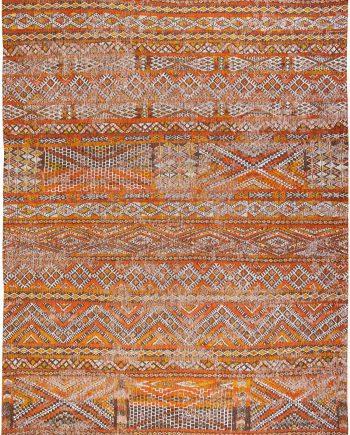 Louis De Poortere rug LX 9111 Antiquarian Kilim Riad Orange