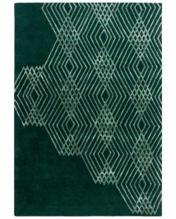 Andessi Rugs Architect Diamonds Forest 3