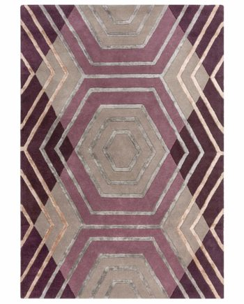 Andessi Rugs Architect Harlow Plum 4