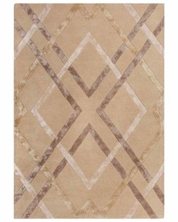 Andessi Rugs Architect Trellis Neutral 3